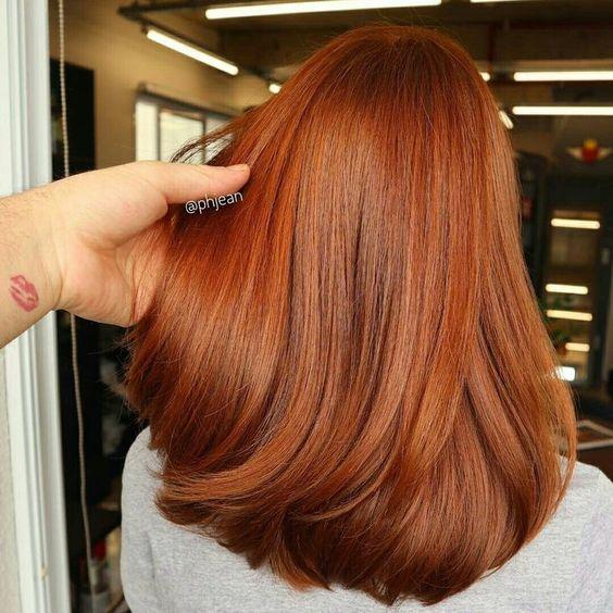 Рудий колір волосся 2019
