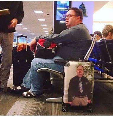 Лучший способ не потерять чемодан