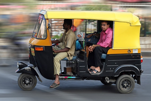 8 найбільш незвичайних видів транспорту: Тук-тук (моторикші), Таїланд