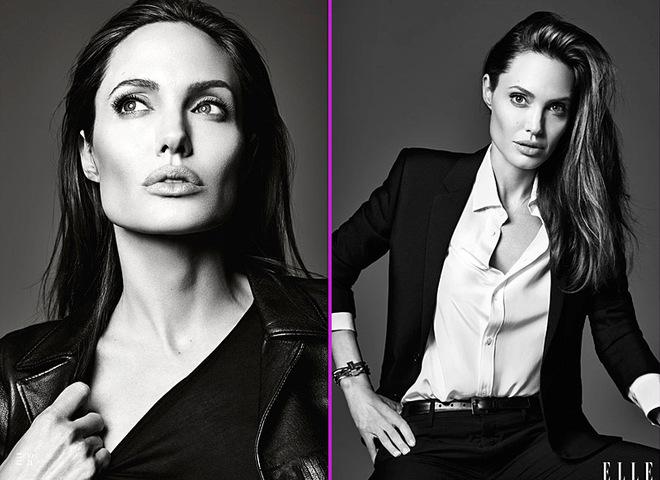 Анджеліна Джолі в ELLE US