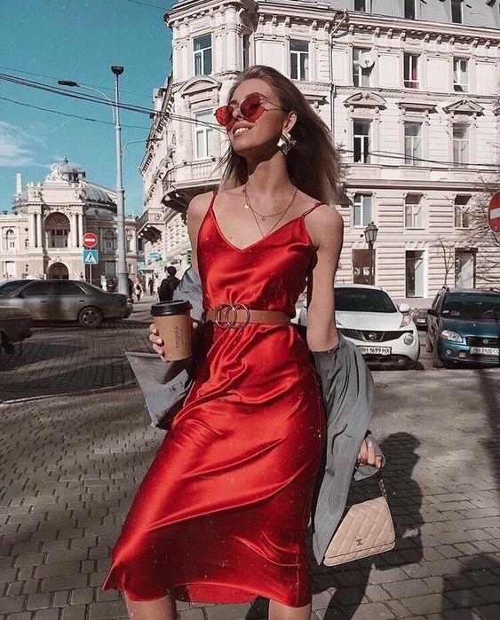 платье-слип