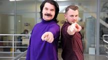 Павел Зибров и Женя Янович в гостях у tochka.net