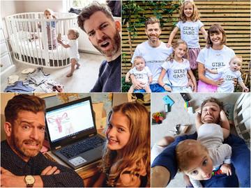 """Мімімішність зашкалює: Instagram батька чотирьох дітей """"підірвав"""" Мережу"""