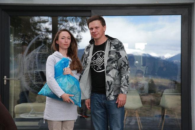 Дмитрий Комаров и Янина Лучейко