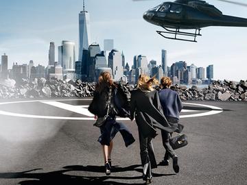 Высший пилотаж: рекламная кампания осенне-зимней коллекции Michael Michael Kors