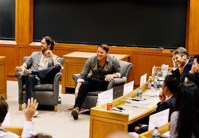Ченнінг Татум став студентом Гарвардської школи бізнесу