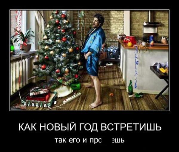 ТОП лучших новогодних демотиваторов