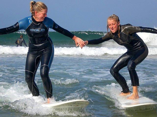 Серфінг в Марокко: школа серферів