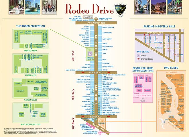 5 кращих шопінг-авеню: Rodeo Drive, Лос-Анджелес