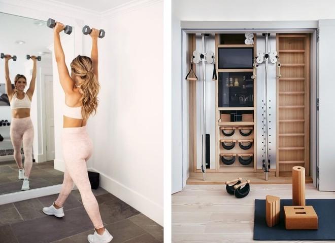 Как сделать спортзал дома