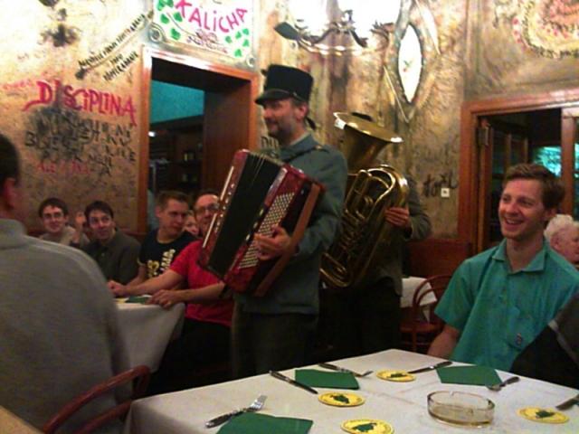 ресторани Праги - U kalicha
