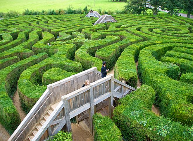 Найбільш заплутані лабіринти: Longleat Hedge, Уормінстер, Англія