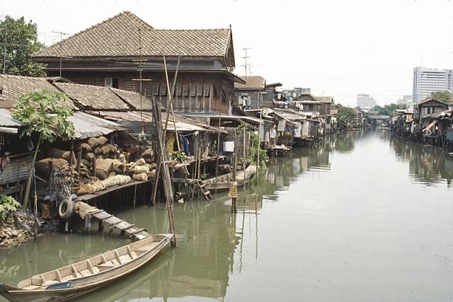 Достопримечательности Бангкока: речные трущобы
