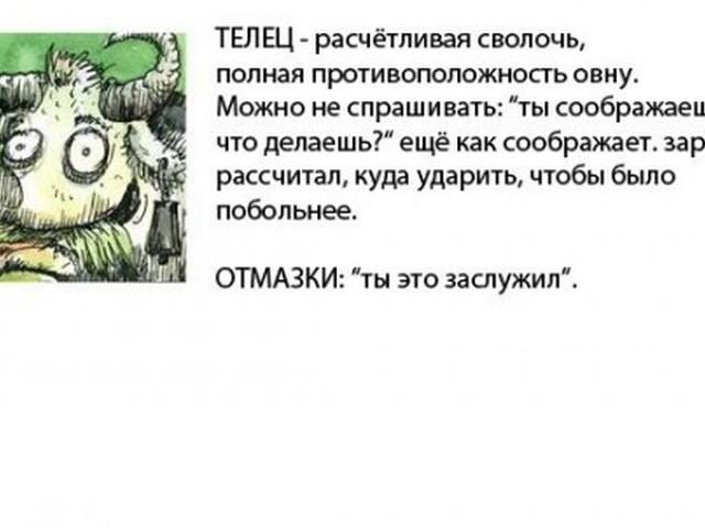 Прикольный гороскоп картинки с надписями