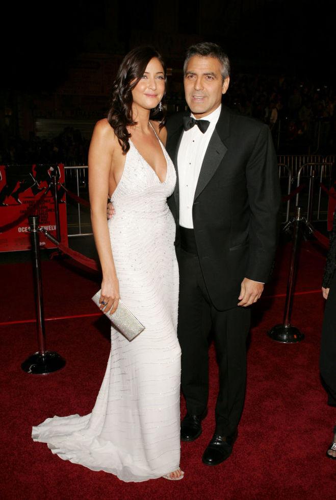 Джордж Клуни и Лиза Сноудон