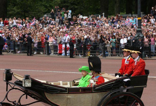 день рождения Елизаветы II
