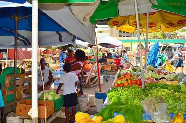 Топ 5 уличных рынков: Рынок «Castries Market» - Сент-Люсия