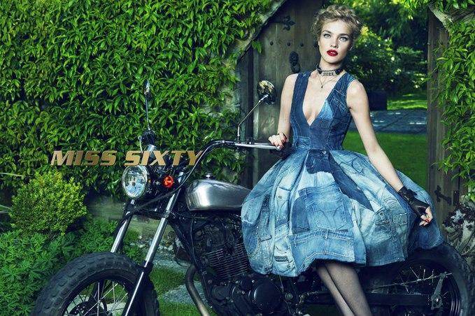 Наталя Водянова стала обличчям Miss Sixty