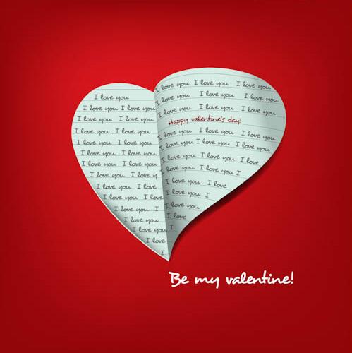 Прикольная открытка с Днем Св. Валентина