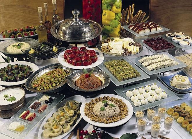 турецкий обед
