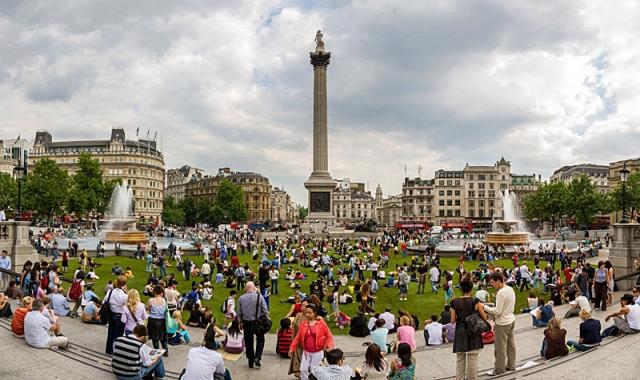 Лондон за два дня: Трафальгарская площадь