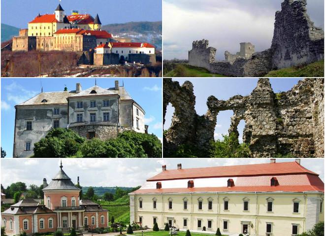 ТОП-5 найбільш містичних замків Західної України