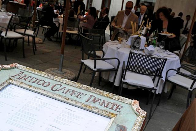 Цікаві місця Верони: Antico Caffe Dante