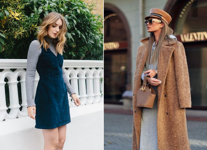 Как носить платье зимой: 8 лайфхаков, которые не дадут тебе замерзнуть