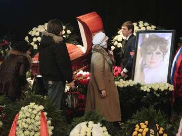 Прощание с Людмилой Гурченко в Москве