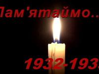 День памяти жертв голодомора 2015