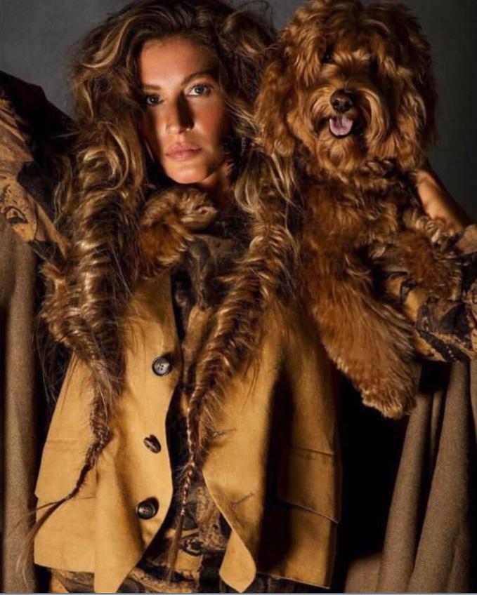 Жизель Бундхен для французького Vogue