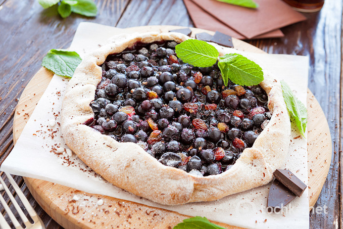 Галета с ягодами рецепт с фото