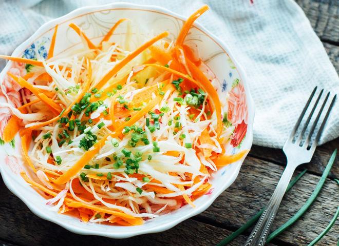 Осенний салат из сладкого перца и капусты рецепт с фото ...