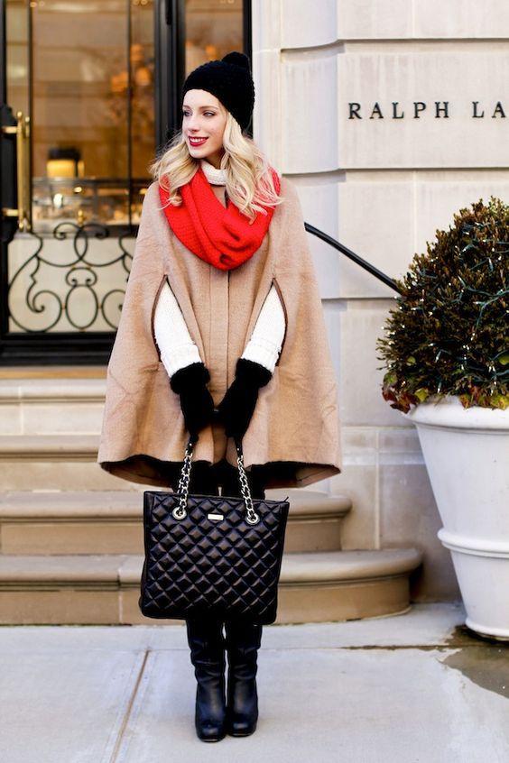 Модные перчатки на зиму