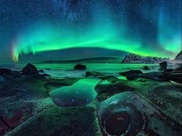 Найзахопливіше природне явище: Північне сяйво