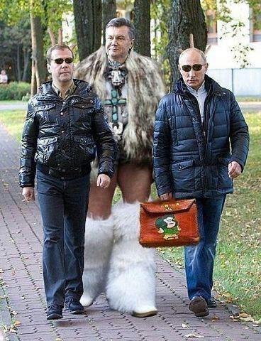"""""""Побег из Межигорья"""": в бывшей резиденции Януковича прошли костюмированные соревнования - Цензор.НЕТ 1487"""
