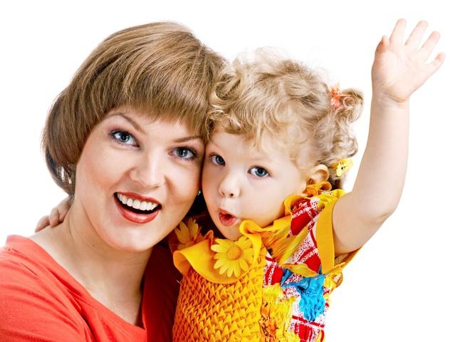 мама і донечка