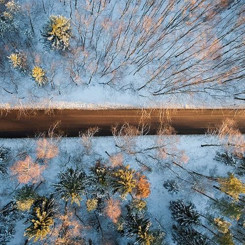 Аэрофотосъемка Зимы (WOW)