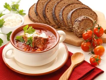 Борщ украинский рецепт