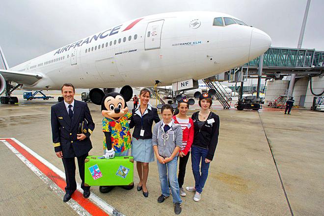 Потеря багажа в аеропорту: Air France