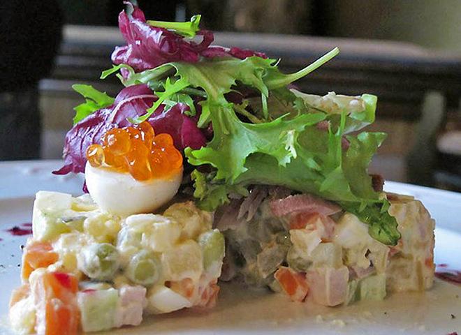 Салат оливье: классический рецепт + 5 необычных салатов