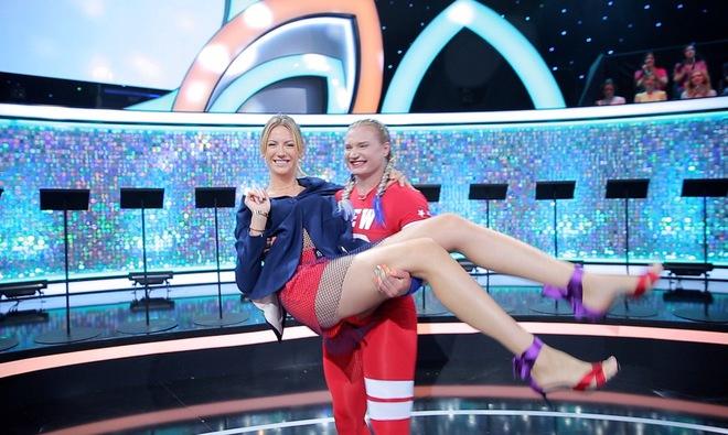 Леся Никитюк самая сильная женщина
