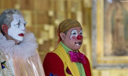 Ежегодный парад клоунов в Мексике