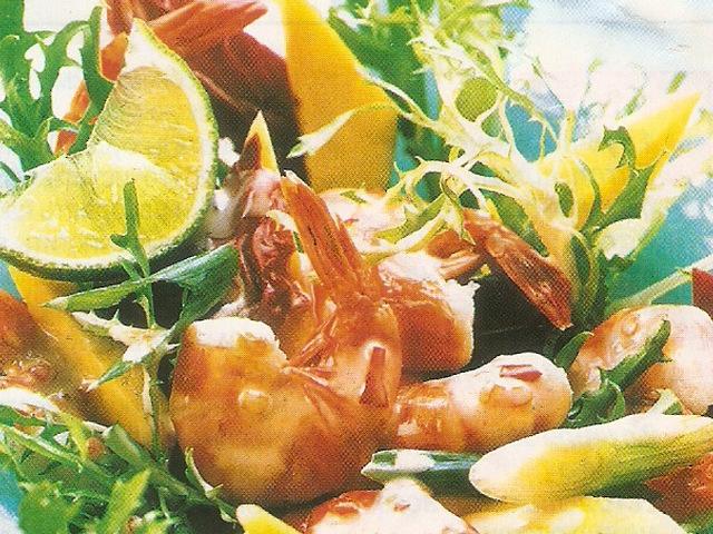 Фотографии экзотических салатов