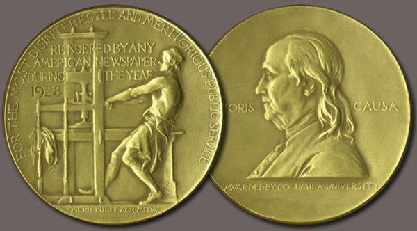 Медаль Пулитцеровской премии