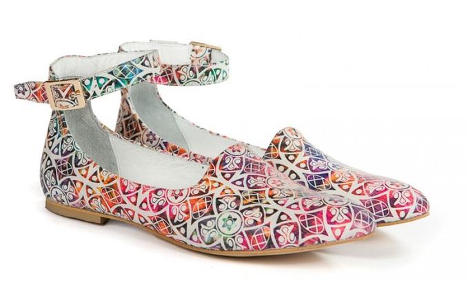 Балетки от украинских дизайнеров: Wladna, 1100 грн