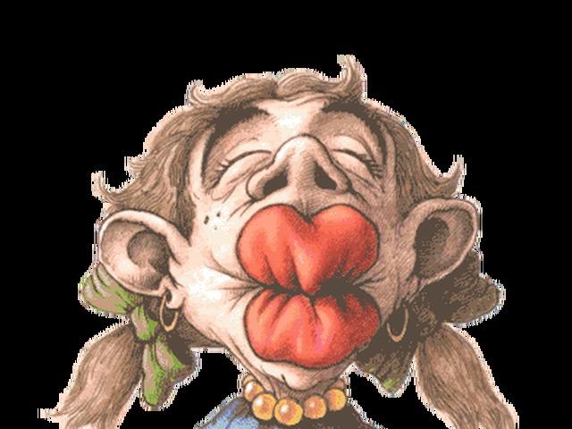 Прикольные открытки поцелуй