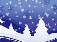 Сказочные рождественские обои на рабочий стол 2015