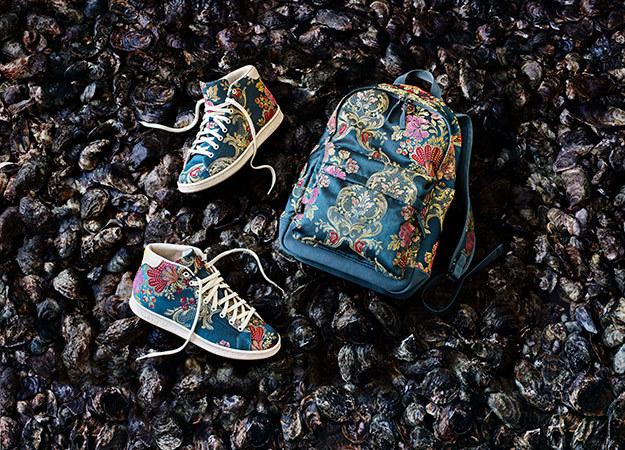 Все в квітах: американський репер створив колекцію кераміки для Adidas Originals