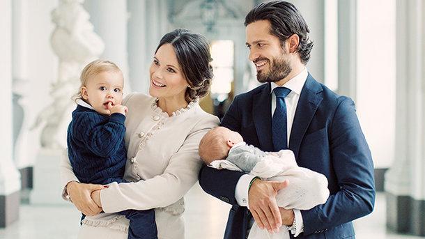 семья принца Карла Филиппа